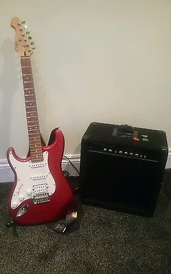 Left Handed Electric Guitar with Amp - Beginner Package