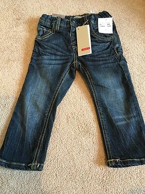 """BNWT Boys Slim Fit """"Name It"""" Jeans 18 - 24 Months"""
