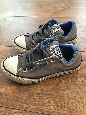 Boys Converse Trainers (pre-lace, Slip On) Size 13