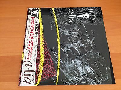 12 Inch Single A-Ha Twelve Inch Club Japan Obi