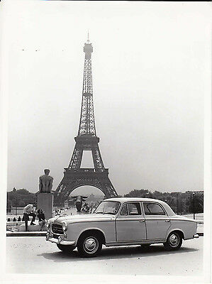 Peugeot Berline Grand Luxe 403 Period Photograph.