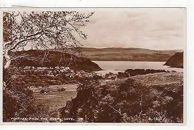 View From The West, PORTREE, Isle Of Skye RP