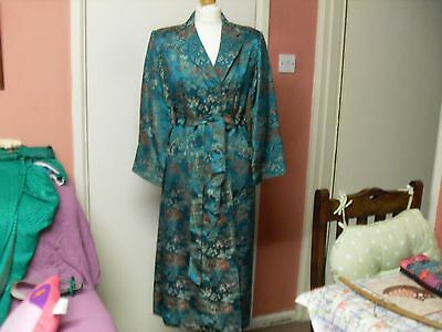 Chinese fitted silk house coat