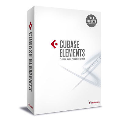 Steinberg Cubase Elements 9  NEW DIGITAL DELIVERY RETAIL