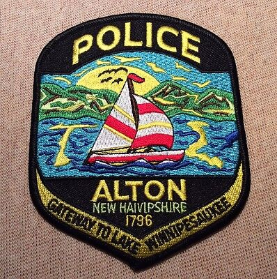 NH Alton New Hampshire Police Patch