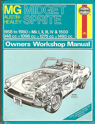 Haynes Manual No.265 - MG Midget/Austin-Healey Sprite (Used)
