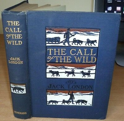 LONDON Jack. THE CALL OF THE WILD. 1923 English edn