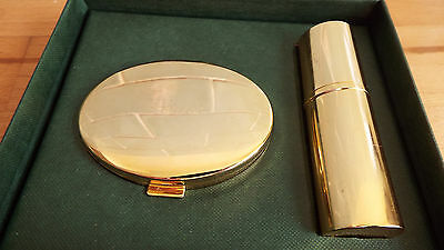 Harrods vintage makeup mirror and perfume dispenser in original box