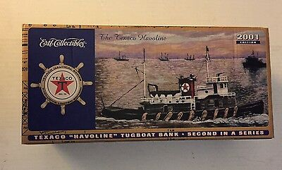 "Texaco ""Havoline"" Tugboat Bank 2001 Second In A Series"