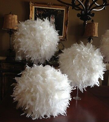 Kissing Ball Feather Table Decoration Centrepiece For Wedding Or Big Event