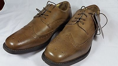 Quality Mens Antique Brown Leather Brogues for men by Tredflex size 10 REDUCED