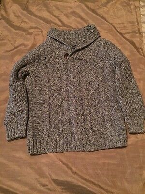 Next Boys Cable Knit Jumper 8 Years