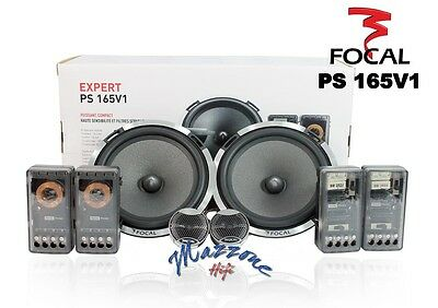 FOCAL EXPERT PS 165 V1 NUOVO MODELLO KIT 2-VIE SEPARATE WOOFER 165mm + TW 160W