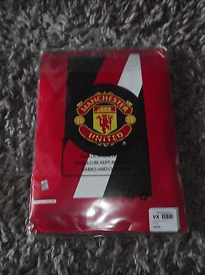 MANCHESTER UNITED TOWEL.     new and still in its packet COSTING £29.99
