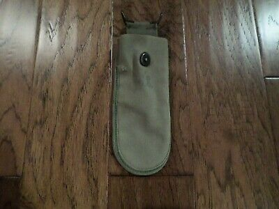 WWII U.S Army Canvas Belt Pouch For Wire Cutters Pouch Dated 1944 Original
