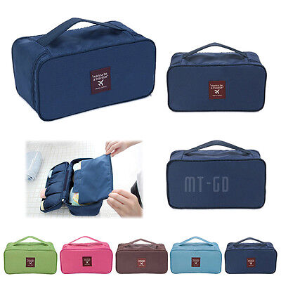 Women Multifunction Travel Cosmetic Bag Makeup Case Pouch Toiletry Storage Case