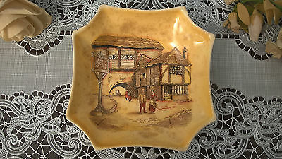 A Vintage Lancaster Ltd Hanley England The Jolly Drover Trinket Dish