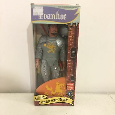 "ClassicTVToys Worlds Greatest Super Knights Ivanhoe 8"" Action Figure in box"