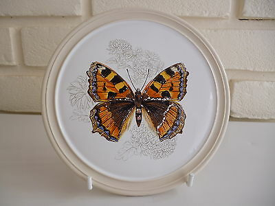 Hornsea Plate/Teapot Stand Butterfly Design Vintage