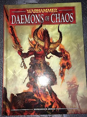 Warhammer Fantasy Battle Daemons Of Chaos Army Book (8th Edition)