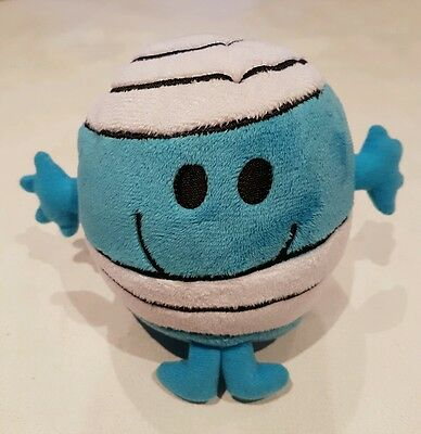 Mr Men New MR BUMP plush soft toy Ty beanie babies roger hargreaves 5""