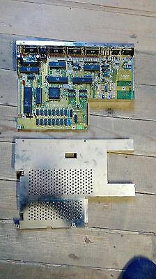Commodore Amiga A500 500 rev motherboard with fat agnus. TESTED AND WORKING