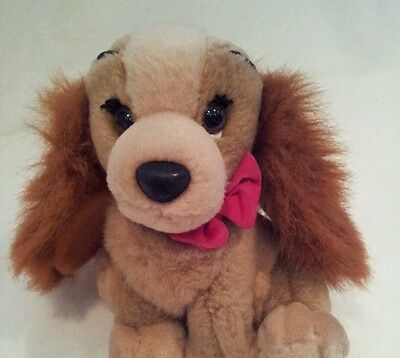 lady and the tramp plush soft toy disney 8""