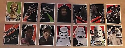Star Wars Puzzle Cards JOB LOT TOPPS FORCE ATTAX Trading Cards