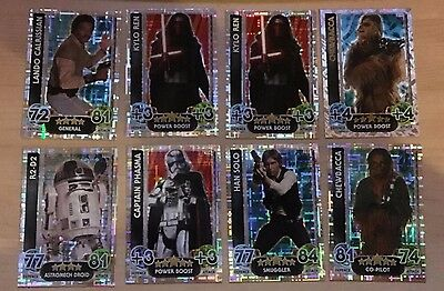 Star Wars Holographic Cards JOB LOT TOPPS FORCE ATTAX trading Cards