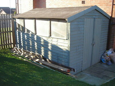 used garden shed 8 x 10