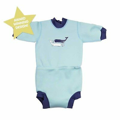 Splash About Happy Nappy Wetsuit Vintage Moby Small 0-4 months
