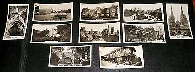 10 Westminster Cigarette Cards British Royal And Ancient Buildings