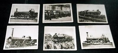 6 Sunripe Cigarette Cards The Railway Centenary