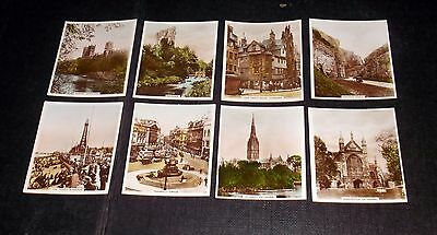 R& J Hill Cigarette Cards Views Of Interest Real Photographs Inc Doverdale