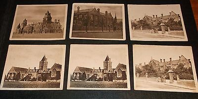 6 Sunripe Cigarette Cards Public Schools And Colleges Inc St Dunstans Catford