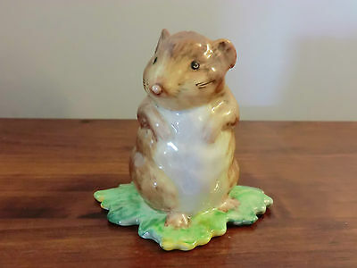 Beswick Beatrix Potter Timmy Willie From Johnny Town-Mouse Bp-2 Gold Backstamp