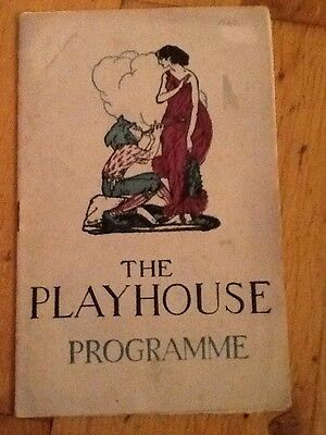 The Playhouse Theatre, Liverpool - 1927 Programme James Harcourt