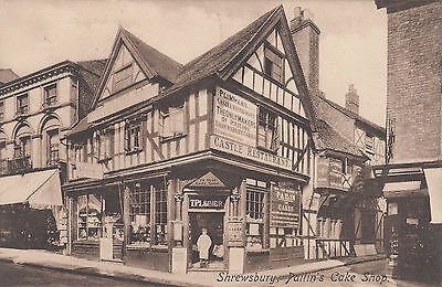 Unused postcard ~ Shrewsbury - Pailin's Cake shop