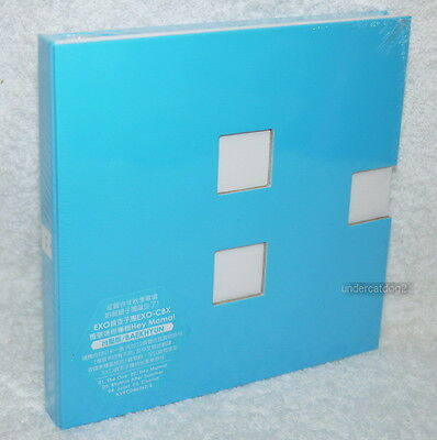 EXO-CBX Mini Album Vol.1 Hey Mama BAEKHYUN ver Taiwan CD+card (Korean Lan)