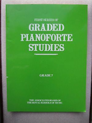 ABRSM First Series of Graded Piano Studies Grade 7 *NEW*
