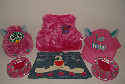 Chad Valley Design-a -Bear Furby Clothes with Backpack and Hangar