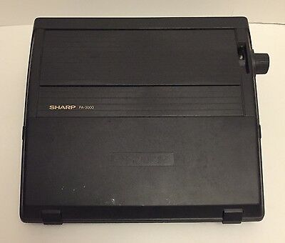 Sharp PA3000 Electric Typewriter with mains lead