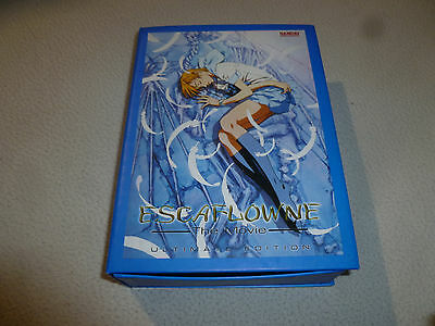 Boxed Japan Anime Dvd Set Escaflowne The Movie Ultimate Edition 2001 Bandai Cib