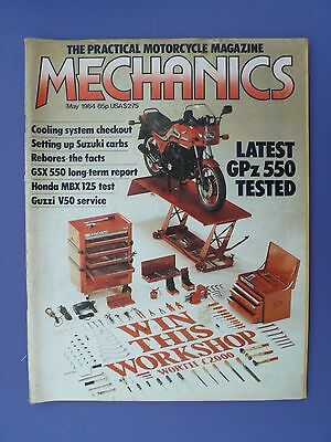 The Practical Motorcycle Magazine - MECHANICS - May 1984 issue