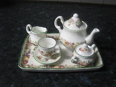 Johnson Brothers Summer Fruits (REGAL) MINIATURE TEA SET