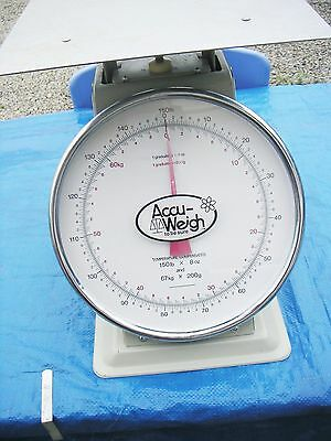 Accu-Weigh M-150Pk, 150# Platform Scale, Used
