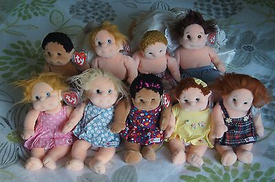 Ty kids all 9 first editions - mint condition -  last set
