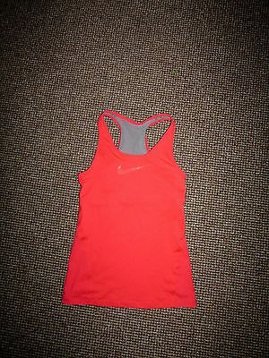 NEW * NIKE DRI-FIT * CORAL SPORTS TOP (RUNNING~GYM~FITNESS) (BUST SUPPORT) Sz M