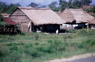 Vietnam Slide- USAF GI w/9TH APS at PLEIKU AB/CAMP HOLLOWAY Collection #19