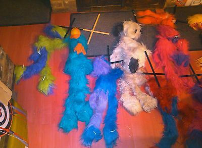 Collction Of Puppets 9 In All